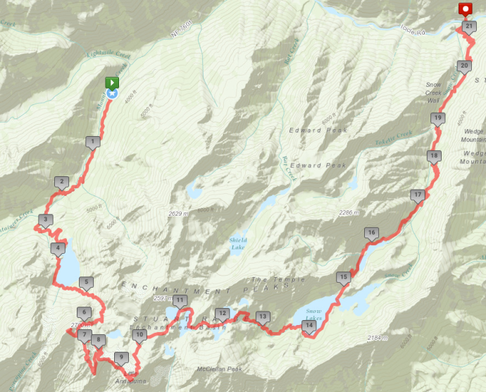 Our route - will get GPX files soon