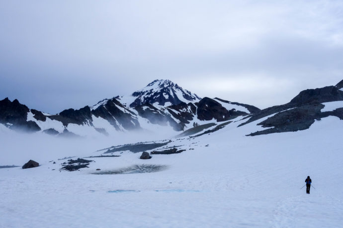 First real view of Glacier!